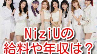 NiziU 給料 年収 韓国合宿 費用 生活費 事務所 借金